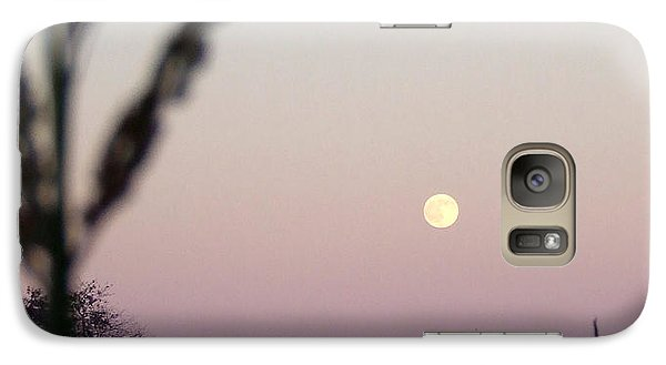 Galaxy Case featuring the photograph Moon by Andrea Anderegg