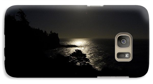 Galaxy Case featuring the photograph Moon Over Dor by Brent L Ander