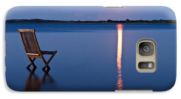 Galaxy Case featuring the photograph Moon View by Gert Lavsen