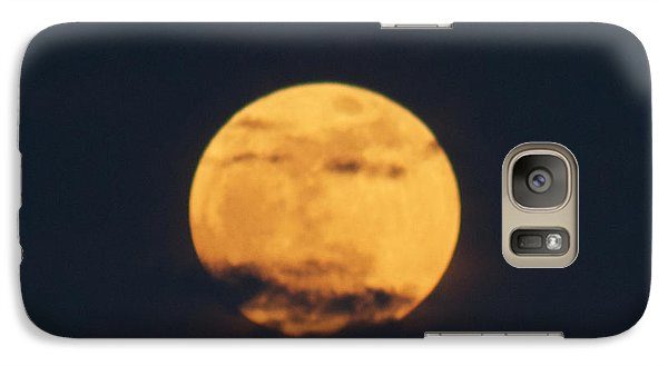 Galaxy Case featuring the photograph Moon by William Norton