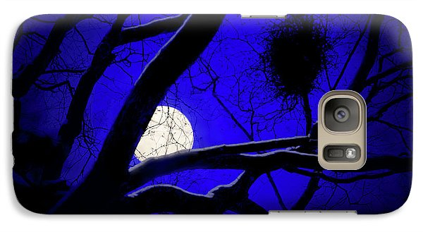 Galaxy Case featuring the photograph Moon Wood  by Richard Piper