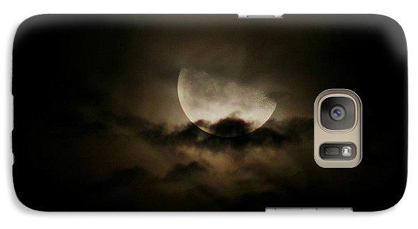 Galaxy Case featuring the photograph Moonlight by Karen Harrison