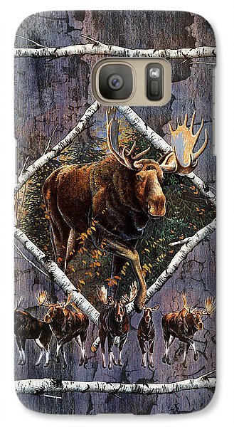 Bull Galaxy S7 Case - Moose Lodge by JQ Licensing