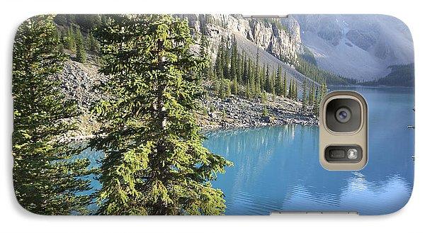 Galaxy Case featuring the photograph Moraine Lake  by Milena Boeva