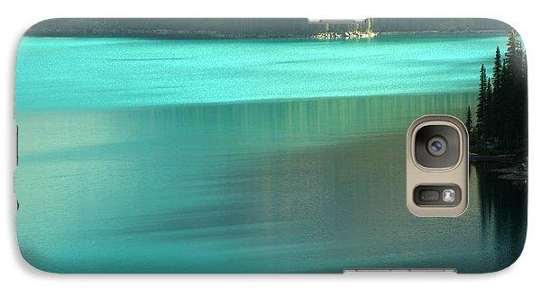 Galaxy Case featuring the photograph Moraine by Milena Boeva