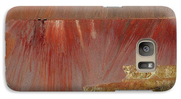 Galaxy Case featuring the photograph Morenci Mine by Vicki Pelham