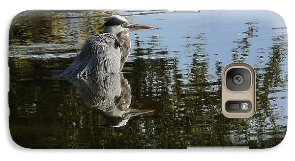 Galaxy Case featuring the photograph Morning Bath by Steven Sparks