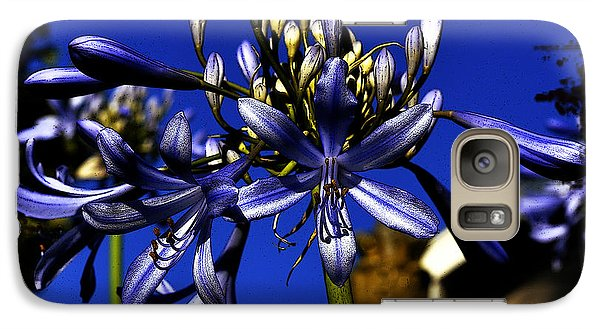 Galaxy Case featuring the photograph Morning Blooms by Clayton Bruster