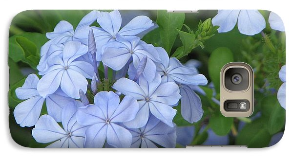 Galaxy Case featuring the photograph Morning Blues by John Glass