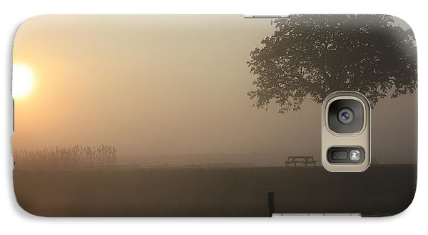 Galaxy Case featuring the photograph Morning Calm by Linsey Williams