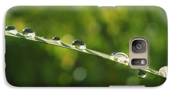 Galaxy Case featuring the photograph Morning Dew by Rima Biswas