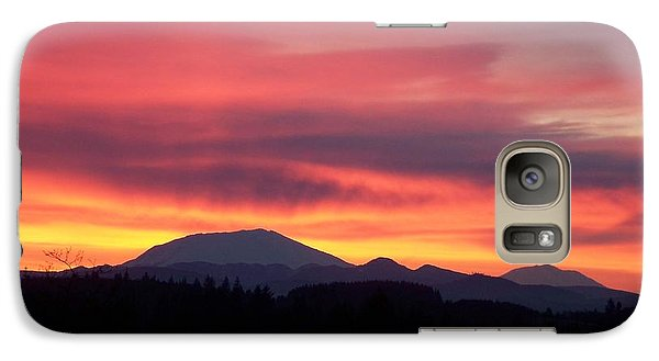 Galaxy Case featuring the photograph Morning Glow by Chalet Roome-Rigdon