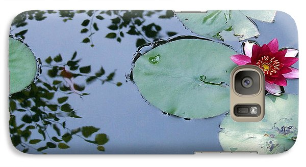 Galaxy Case featuring the photograph Morning Lilly by Dan Menta