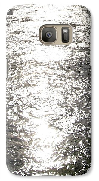 Galaxy Case featuring the photograph Morning On The River by Nancy Dole McGuigan