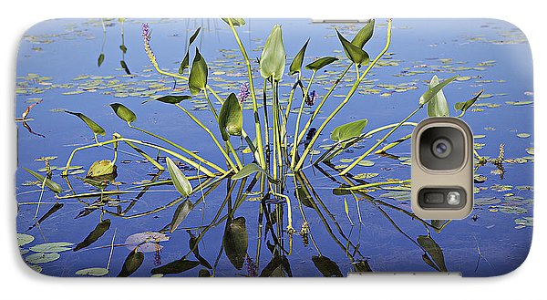 Galaxy Case featuring the photograph Morning Reflection by Eunice Gibb
