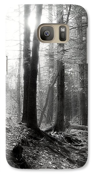 Galaxy Case featuring the photograph Morning Sun by Mary Almond