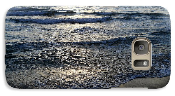 Galaxy Case featuring the photograph Morning Surf by Clara Sue Beym