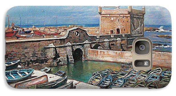 Seagull Galaxy S7 Case - Morocco by Ylli Haruni