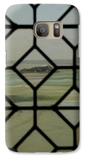 Galaxy Case featuring the photograph Mosaic Island by Marta Cavazos-Hernandez