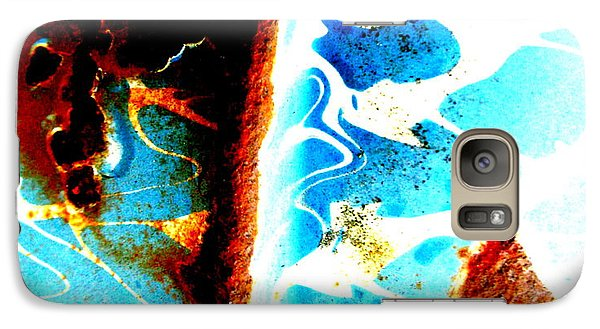 Galaxy Case featuring the photograph Moses' Part by Amy Sorrell