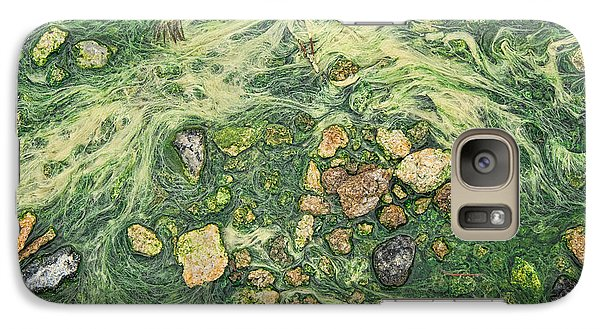 Galaxy Case featuring the photograph Moss Mustache  by Britt Runyon