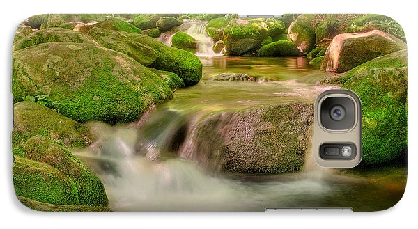 Galaxy Case featuring the photograph Mossy Beauty by Cindy Haggerty
