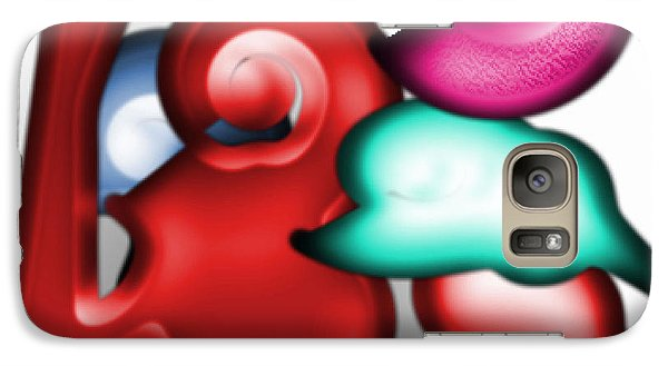 Galaxy Case featuring the digital art Mother And Child In The Daylight by George Pedro