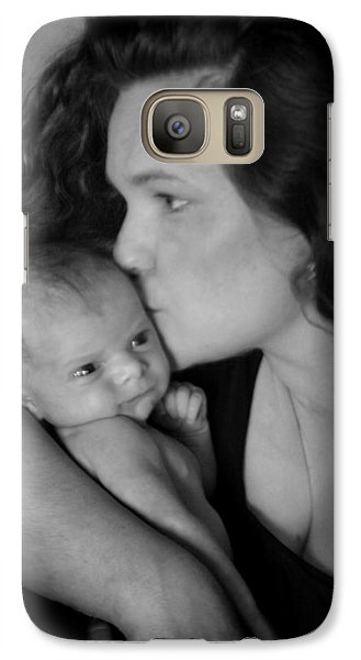 Galaxy Case featuring the photograph Mother And Child by Kelly Hazel