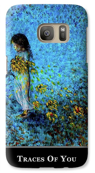Galaxy Case featuring the painting Motivational - Uniqueness by Nik Helbig
