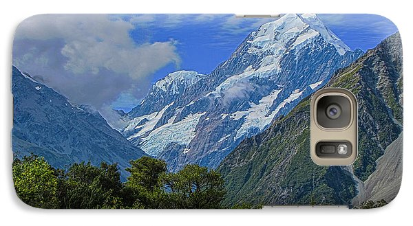 Galaxy Case featuring the photograph Mount Cook by David Gleeson