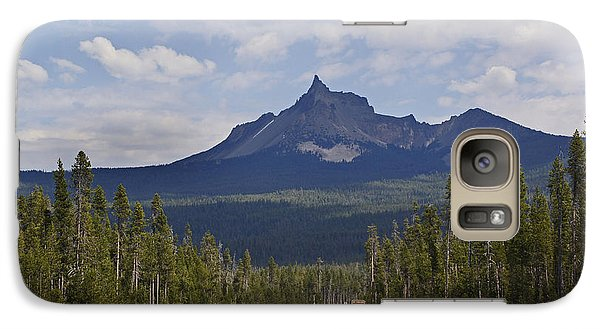 Galaxy Case featuring the photograph Mount Thielsen by Mick Anderson
