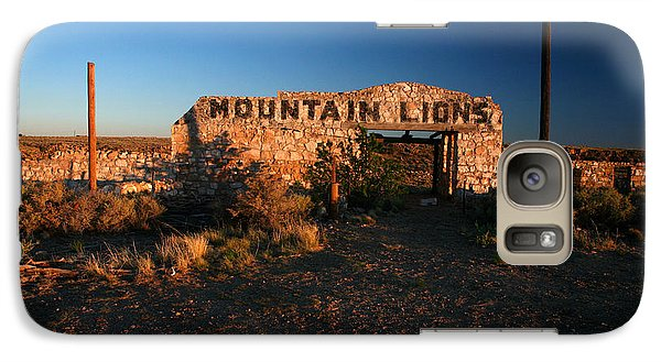 Galaxy Case featuring the photograph Mountain Lions At Two Guns by Lon Casler Bixby