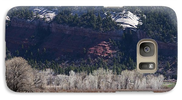 Galaxy Case featuring the photograph Mountain Pasture by Lorraine Devon Wilke