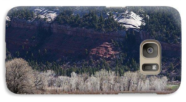Galaxy Case featuring the photograph Mountain Pasture by Lorraine Devon Wilke