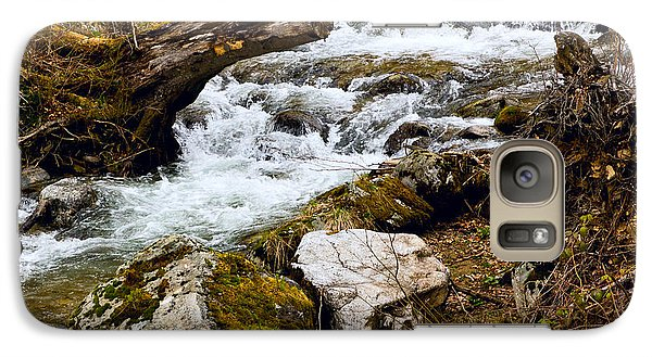 Galaxy Case featuring the photograph Mountain Stream by Les Palenik