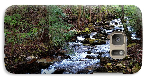 Galaxy Case featuring the photograph Mountain Stream by Paul Mashburn