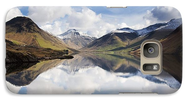 Galaxy Case featuring the photograph Mountains And Lake, Lake District by John Short