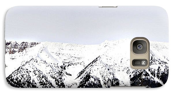 Galaxy Case featuring the photograph Mountains Majesty by Janie Johnson