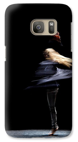 Galaxy Case featuring the photograph Moved Dance. by Raffaella Lunelli