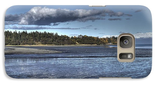 Galaxy Case featuring the photograph Mud Bay  by Michele Cornelius