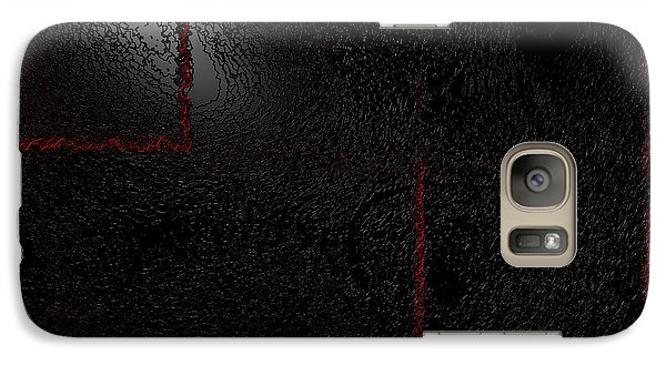 Galaxy Case featuring the digital art Muddy by Jeff Iverson