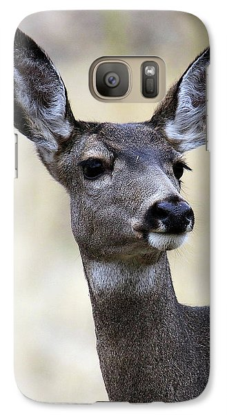Galaxy Case featuring the photograph Mule Deer Doe by Steve McKinzie