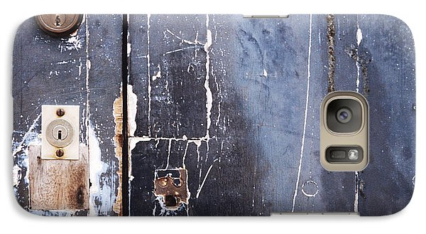 Galaxy Case featuring the photograph Multiple Locks by Agnieszka Kubica