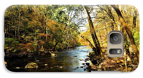 Galaxy Case featuring the photograph Musconetcong River by Brian Hughes