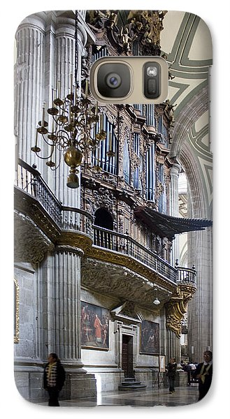 Galaxy Case featuring the photograph Music On High by Lynn Palmer