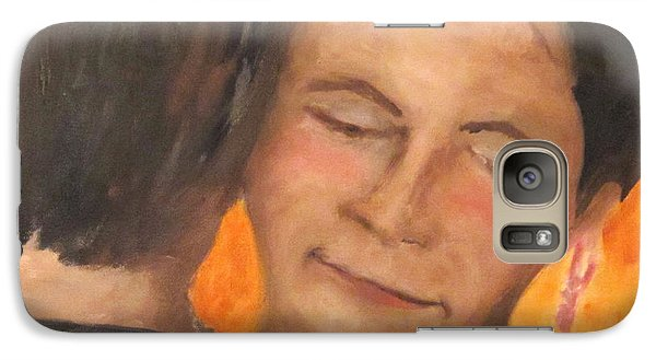 Galaxy Case featuring the painting My Favorite Place by Keith Thue