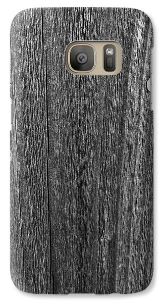 Galaxy Case featuring the photograph My Fence by Bill Owen