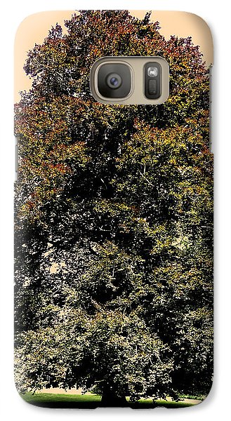Galaxy Case featuring the photograph My Friend The Tree by Juergen Weiss