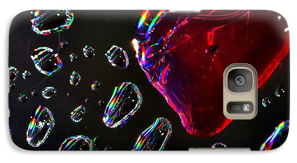 Galaxy Case featuring the photograph My Heart by Sylvie Leandre