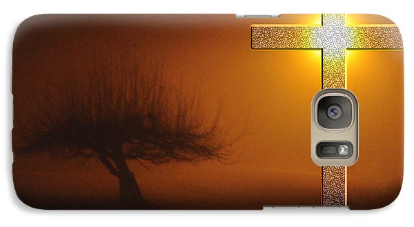 Galaxy Case featuring the photograph My Life In God's Hands 3 To 4 Ration by Clayton Bruster
